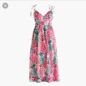 j.Crew Ratti pineapple print Dress